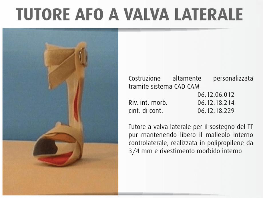 Tutore Afo a Valva Laterale - OfficineOrtopediche.com