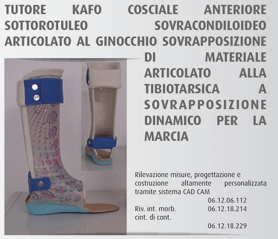 Tutore Kafo Cosciale Anteriore - OfficineOrtopediche.com