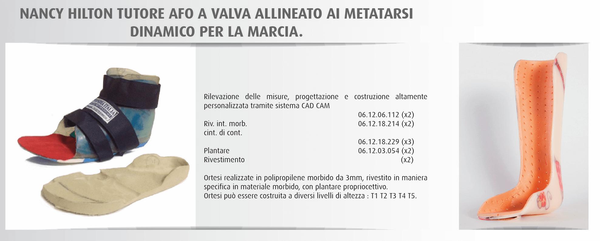 Tutore AFO a Valva - Officine-Ortopediche.com
